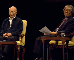 Minister Lee Kuan Yew and Prof. Tommy Koh